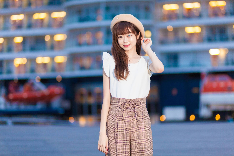 "Vol.26♡ 【non-no11月号掲載】《脚長》に見える""グレンチェック柄パンツ""_1_4"