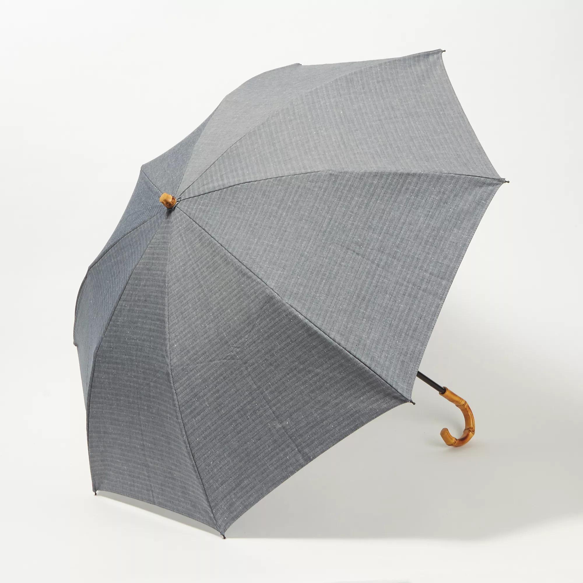WAKAO ヘリンボーン晴雨兼用二つ折り傘 ¥14,300