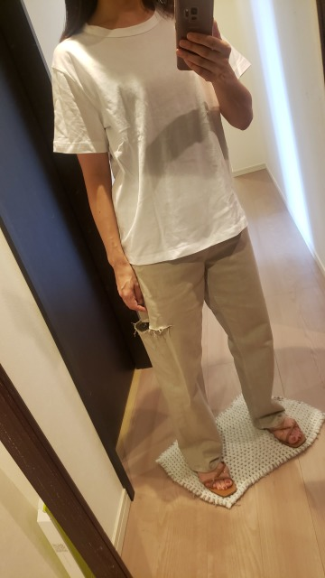 GU  ¥590 Tシャツが優秀♡_1_5