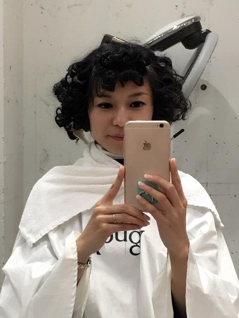 今月号のヘア特集に見開きで載ってます♡_1_3