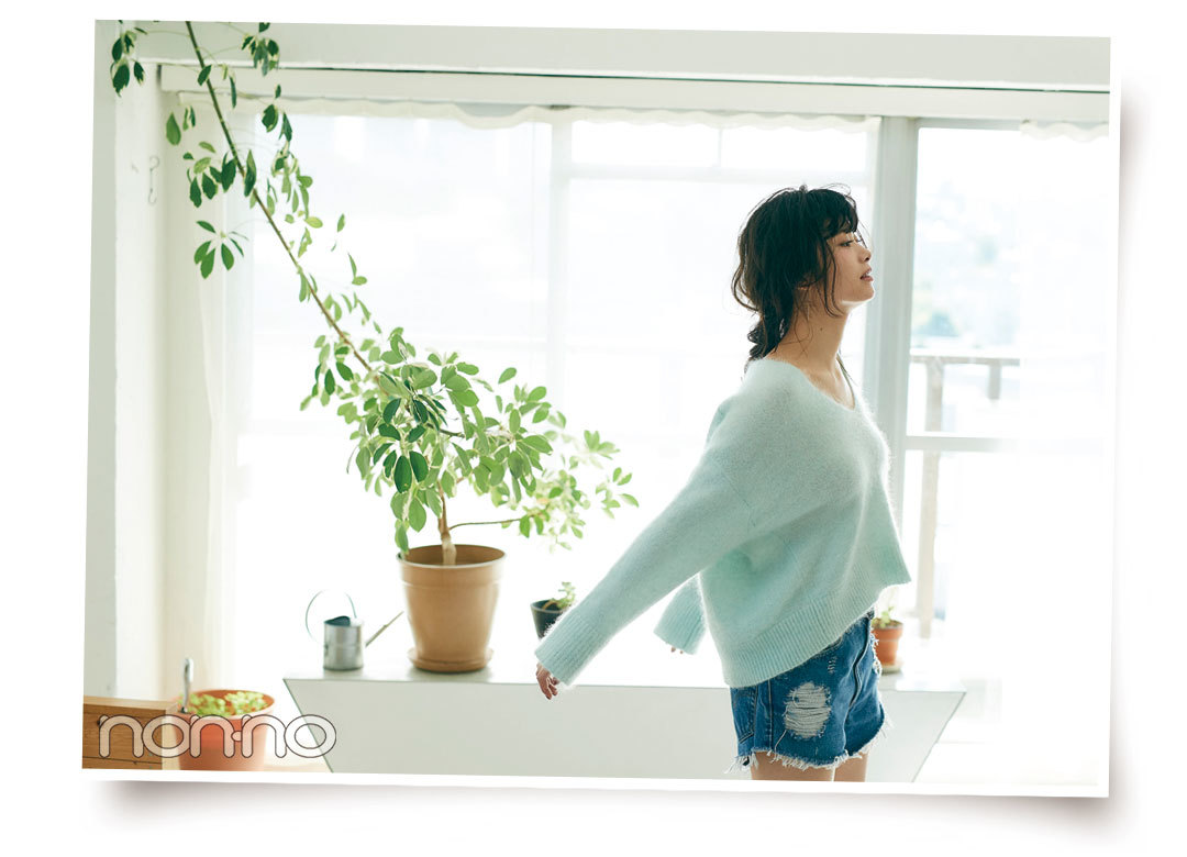 Web限定カットも公開♡ 馬場ふみかの#彼女感ニット_1_2-4