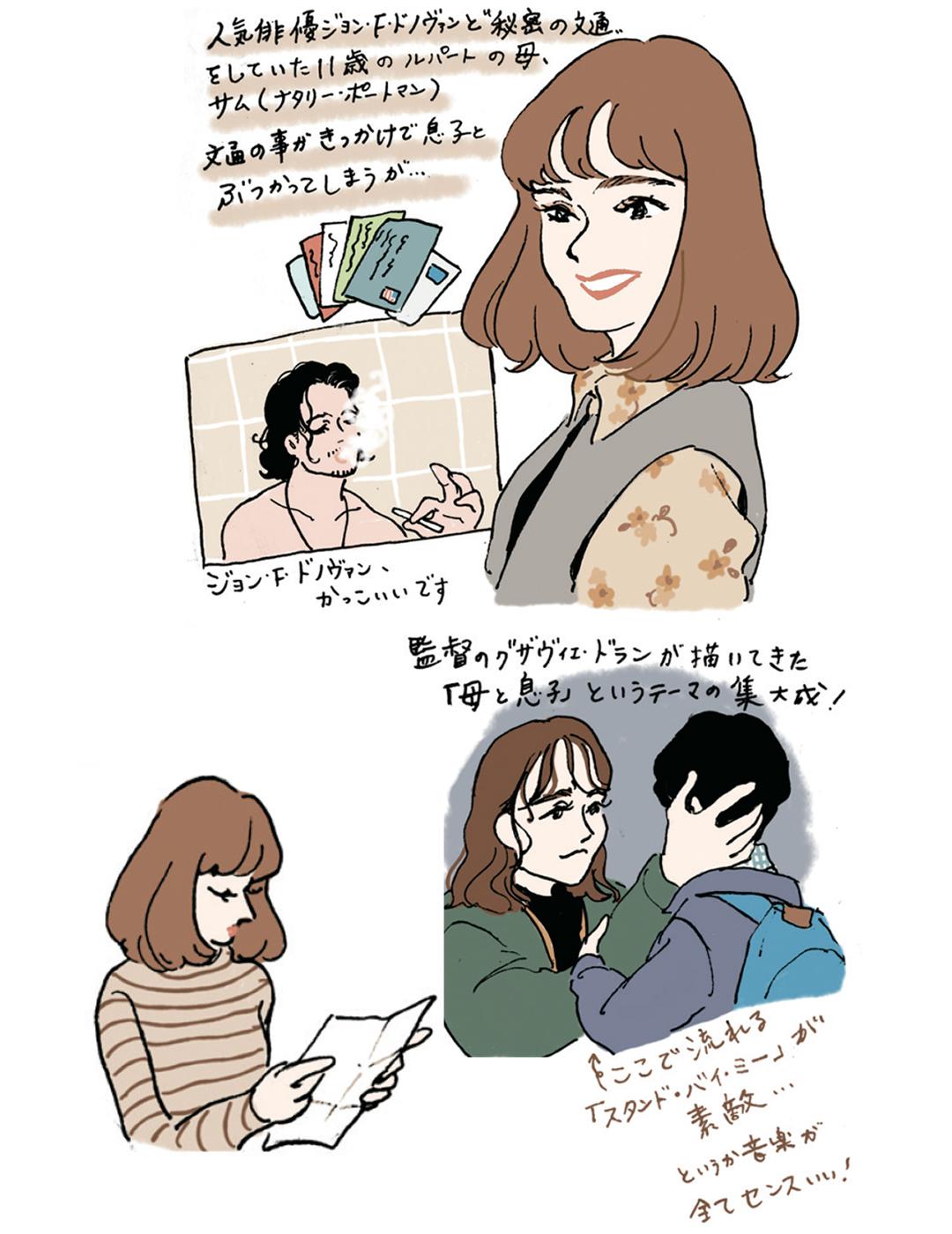 『映画の中の愛すべき女子図鑑』イラストギャラリー_1_4