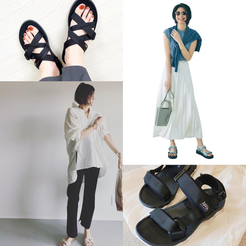 【アラフォーのためのスポサンまとめ】履きやすい! 大人に似合う!夏のカジュアルに必要なのはスポサンだった|40代ファッション