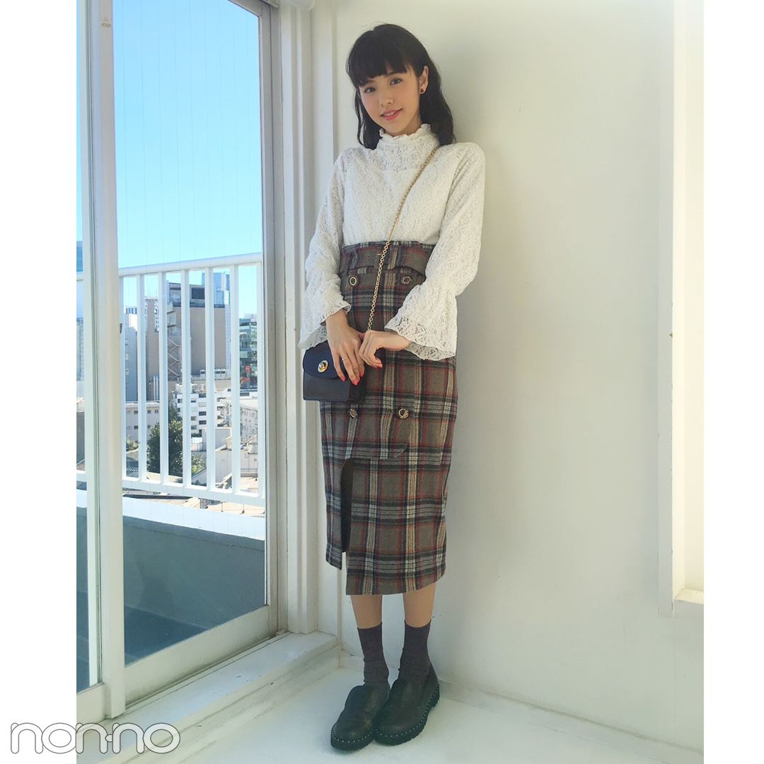 鈴木優華の私服コーデ