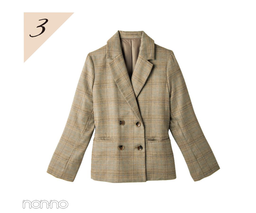 【水曜日】新川優愛はチェックのジャケットでちょい大人コーデ♡ _1_3-3