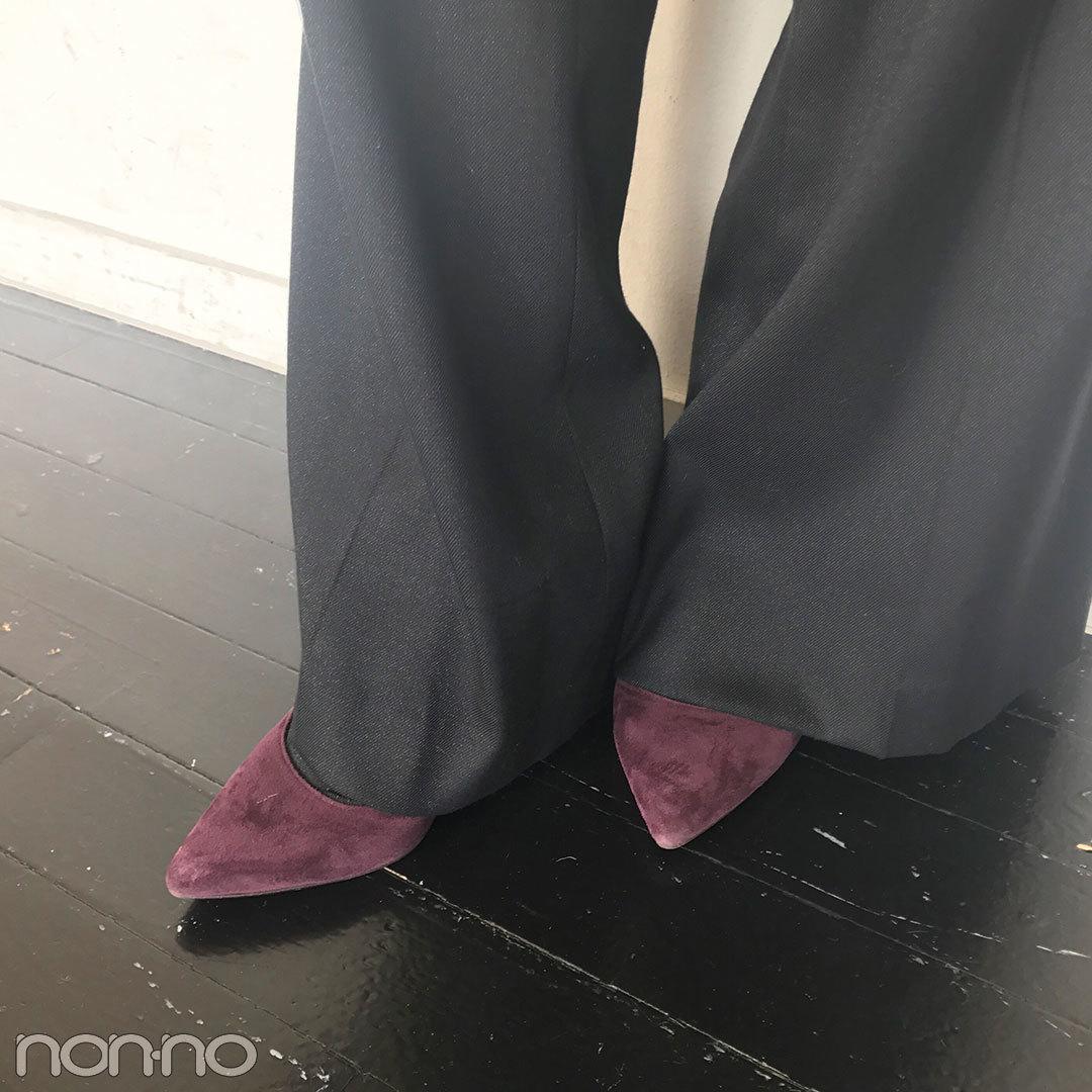高田里穂はグレンチェックを大人っぽく&甘く着こなす!【モデルの私服スナップ】_1_2-2