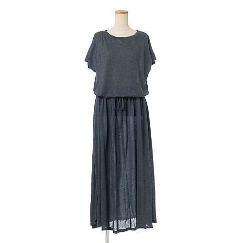 一枚でスタイルが完成! 肌ざわり最高なジャージードレスを夏の相棒に_1_2