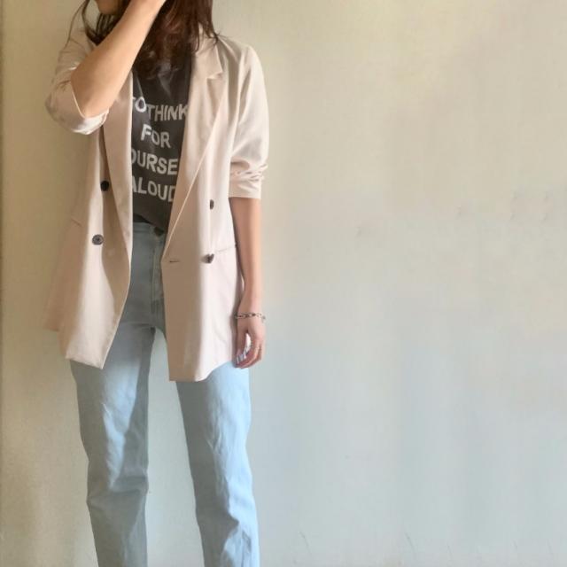 【ベーシックアイテム】ジャケットを更新!大人ピンクに一目惚れ_1_6