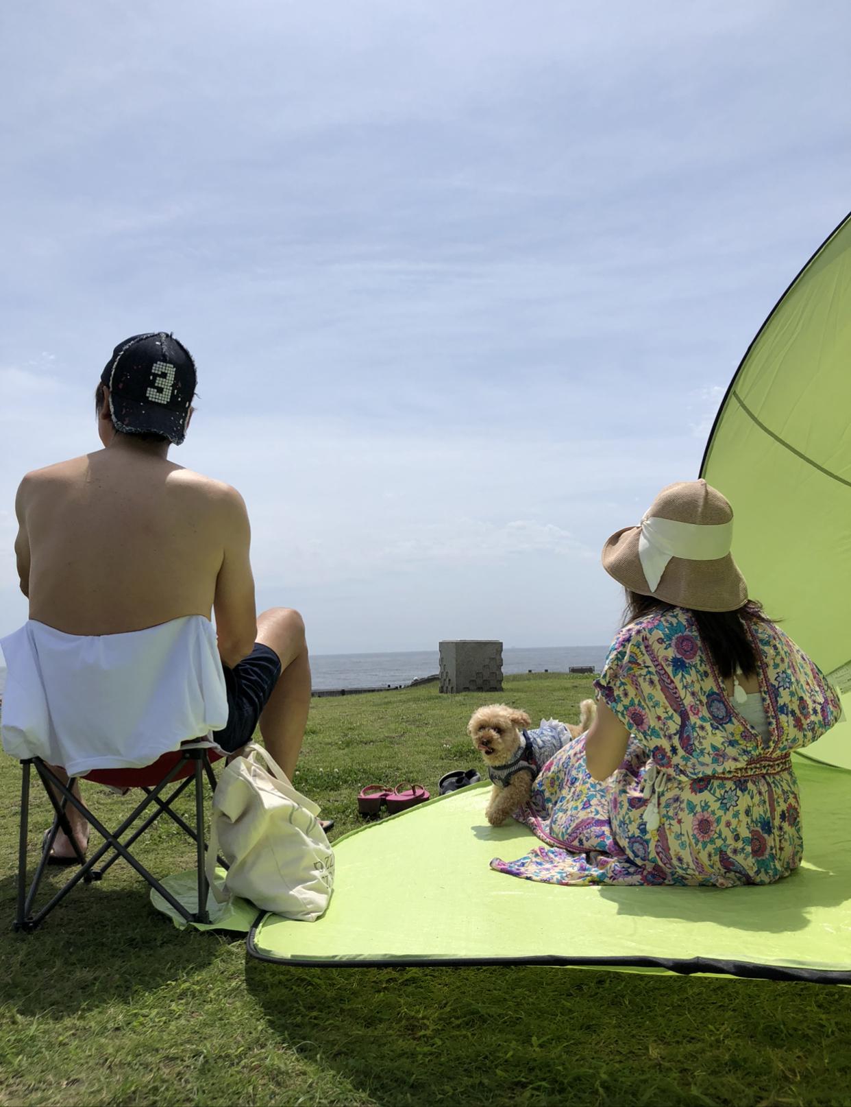 ボタニカル柄ワンピで過ごす夏の週末♪_1_3-1