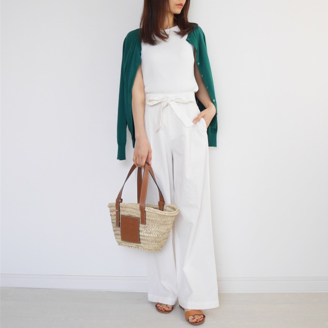 5月の着まわしDiary!「羽織りはどうする?」着るだけ簡単UVカット!_1_4