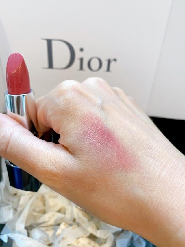 Diorのリップ