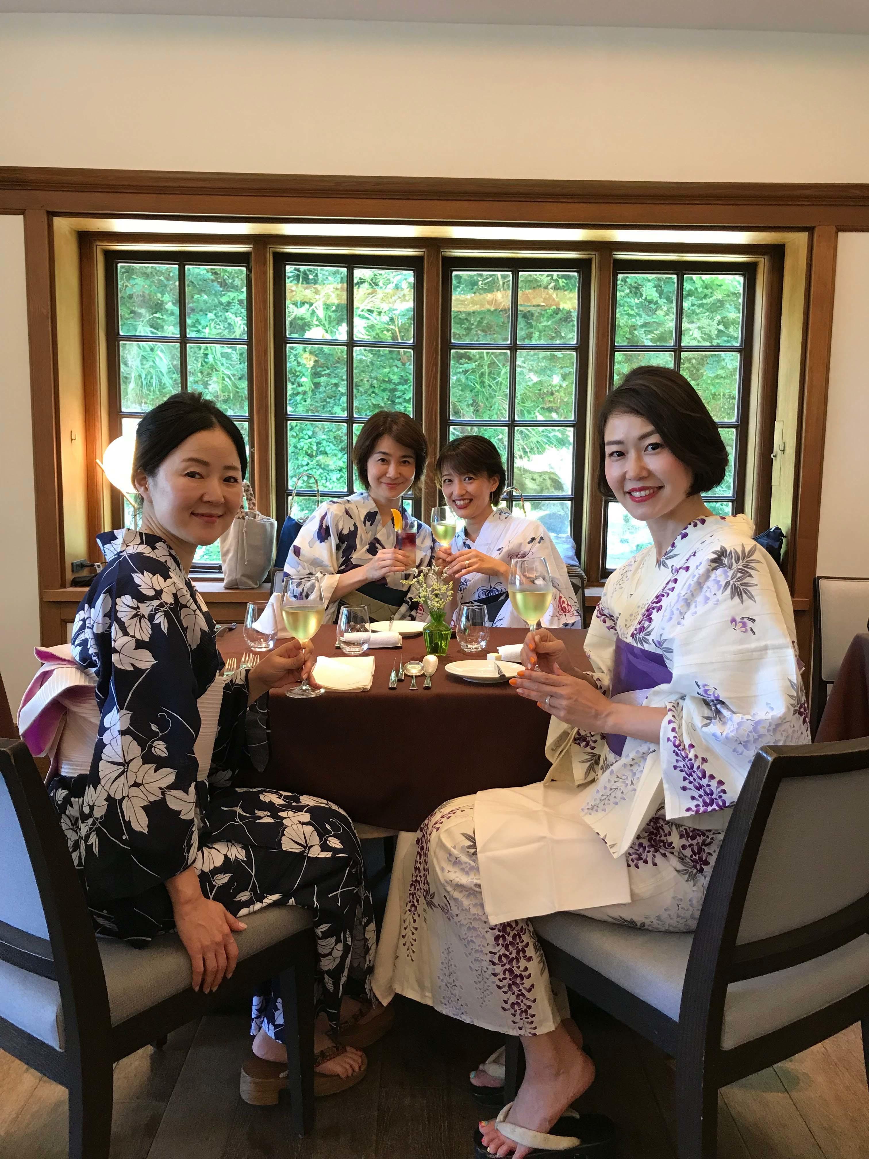 浴衣で鎌倉、古我邸ランチ_1_2