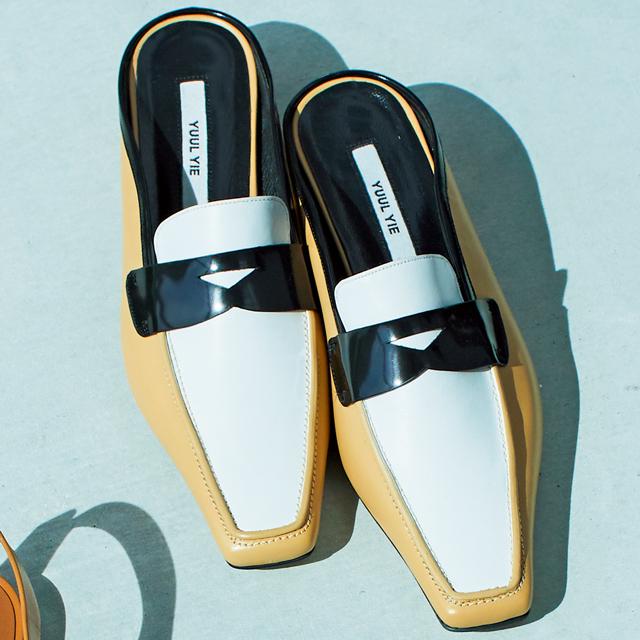 靴(H3)¥57,000/ヴィア バス ストップ ミュージアム(ユール イー)