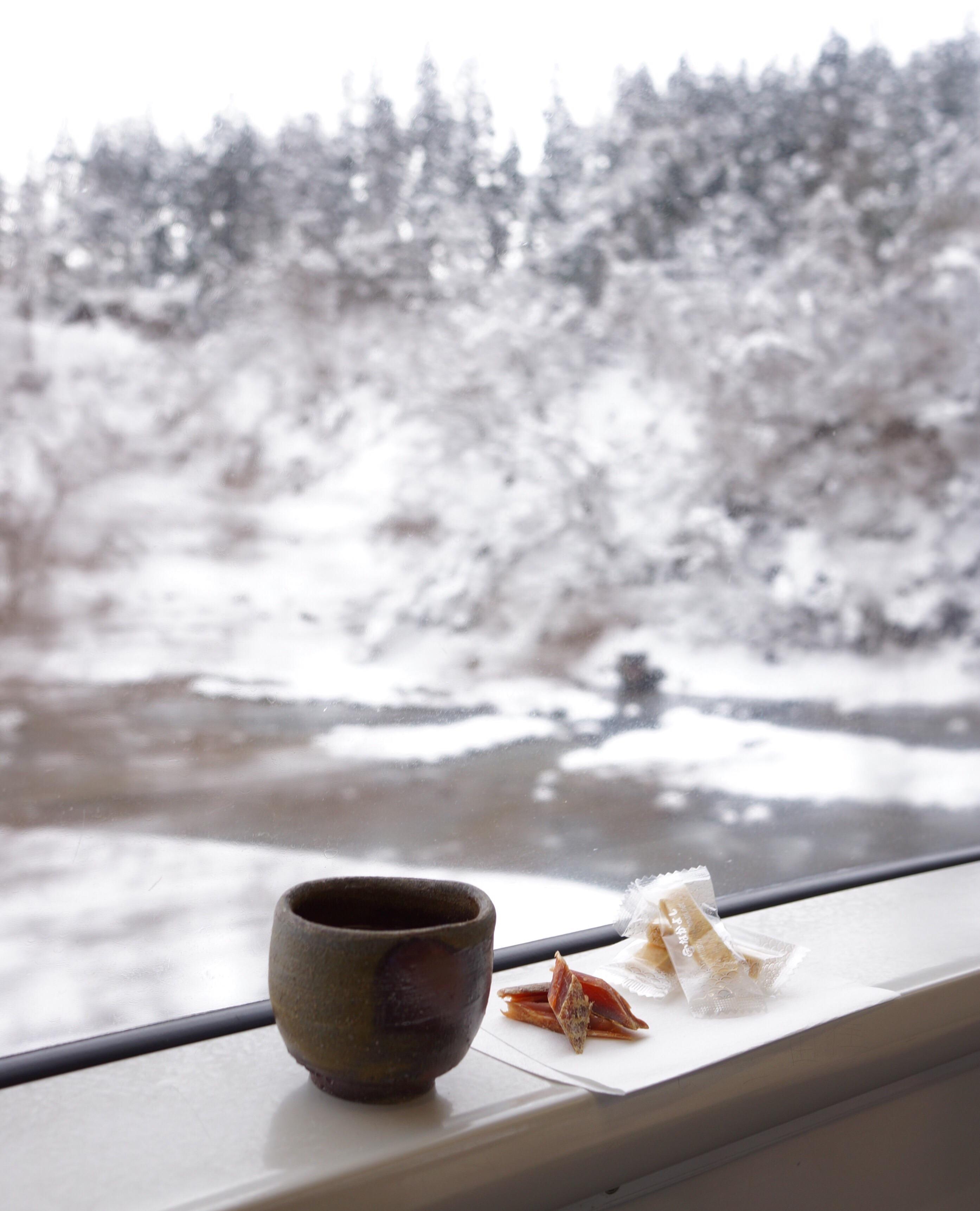 冬の東北、列車でぬくぬく雪見行。_1_1-2