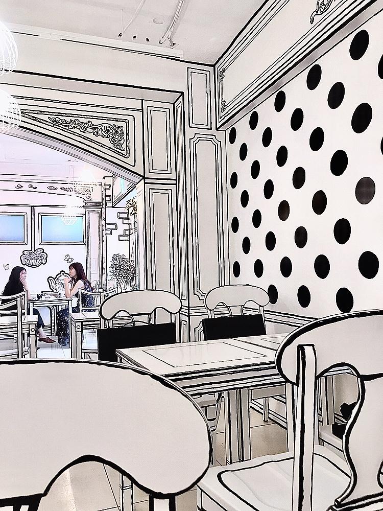 【新大久保カフェ】まるで漫画の世界!?_1_1-1