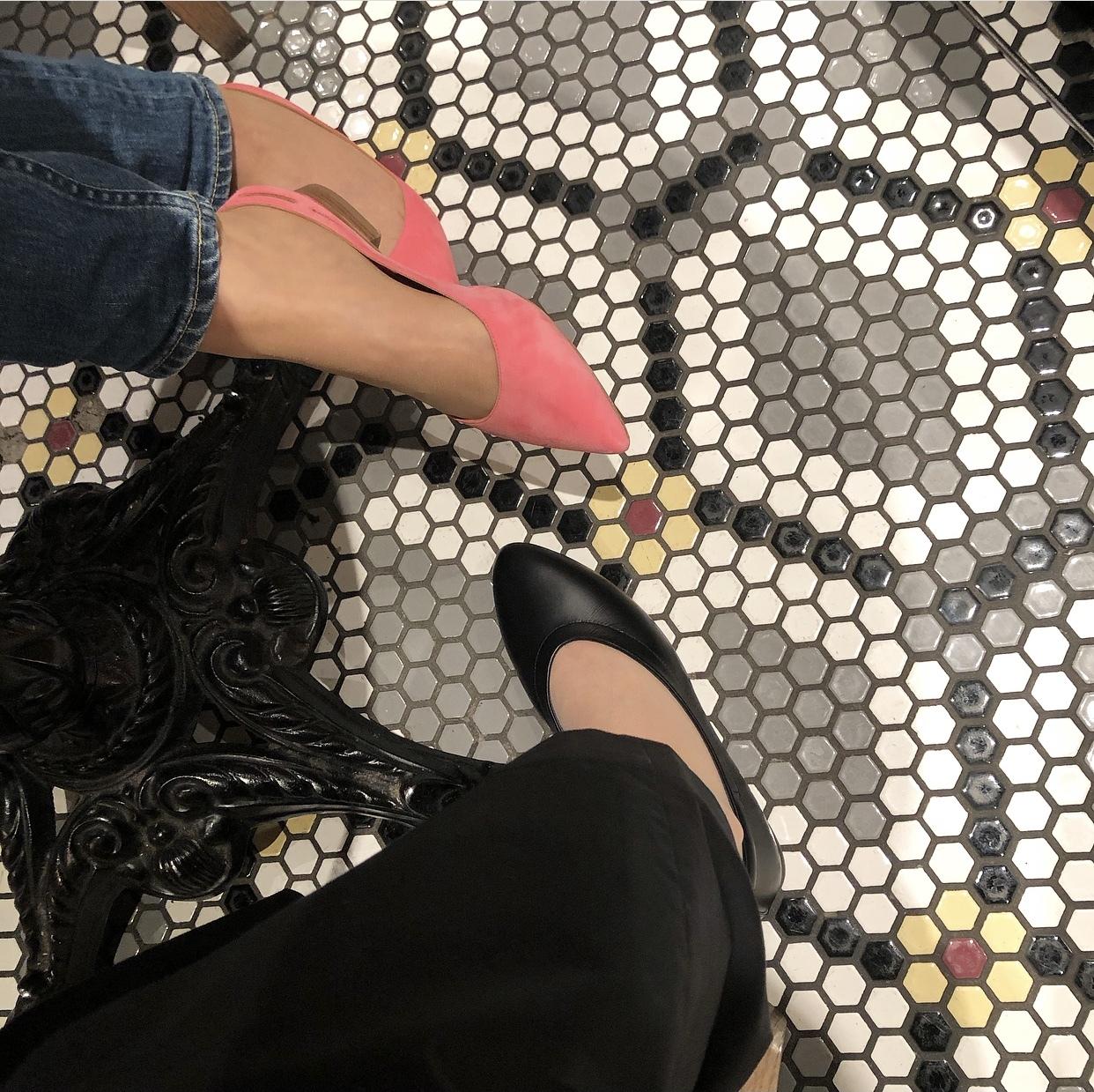 黒スカートで、新宿ビストロカフェへ♩_1_5