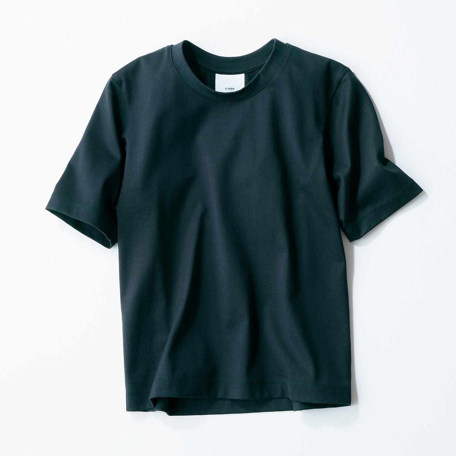 CINOH×éclat コンパクトTシャツ