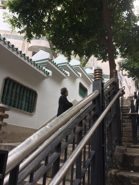 香港的撮影スポット Ladder Street_1_2-2