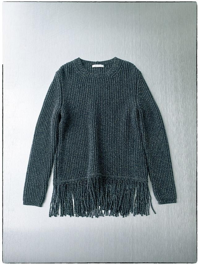 マックスマーラのフリンジセーター