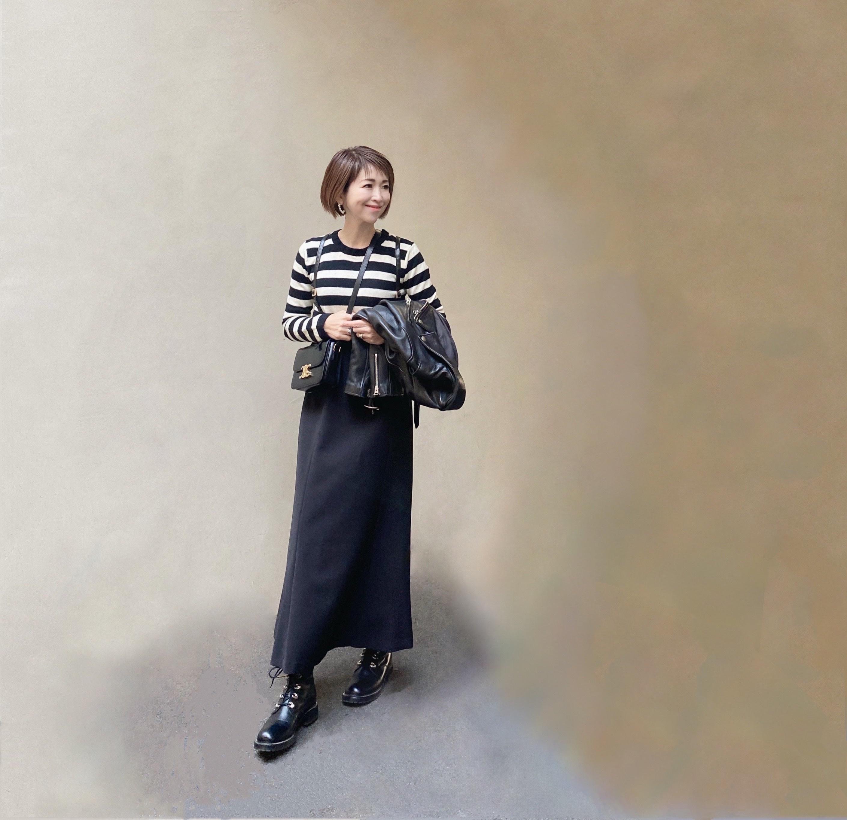 ハンサムロングスカート 〜ブラック編〜_1_2