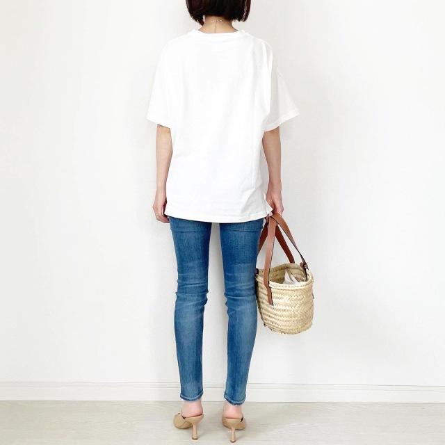 この夏の大本命!プチプラ刺繍ロゴTシャツ【tomomiyuコーデ】_1_6