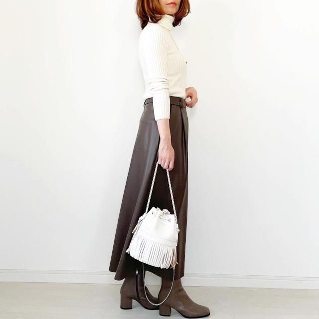 GU本当に買って良かったスカート!【tomomiyuコーデ】_1_9