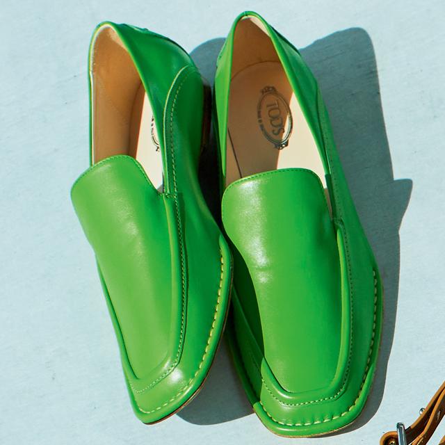 靴(H0.5)¥93,000/トッズ・ジャパン(トッズ)