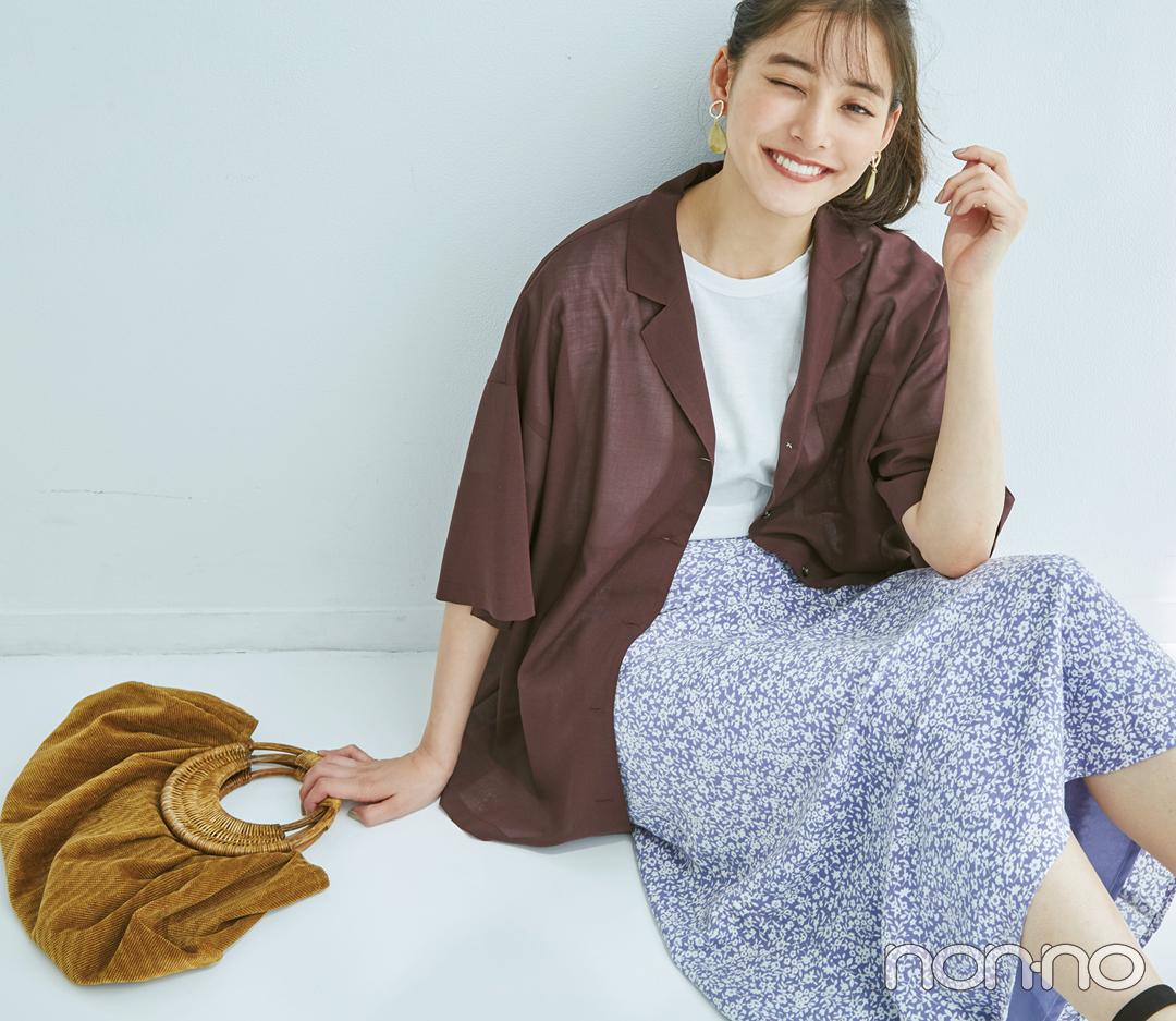 白Tシャツをトレンド顔にコーデ★ 新鮮アイディア4選!_1_4-2