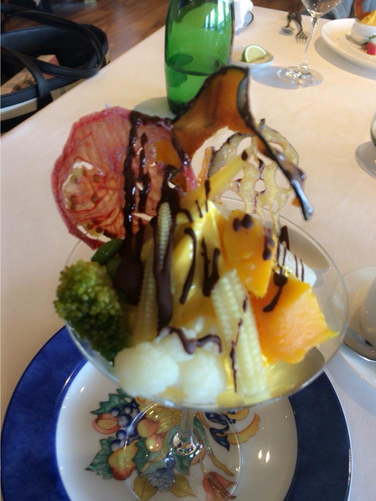 Westin Hotel Tokyo♡リーズナブルな野菜のフレンチコース_1_7
