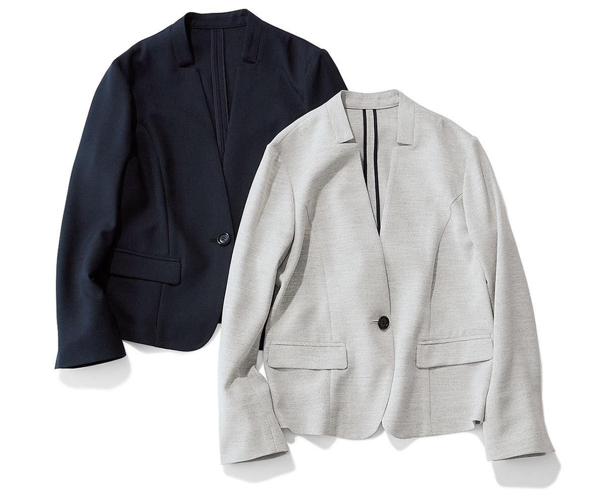 エムセブンデイズ_洗濯ジャケット