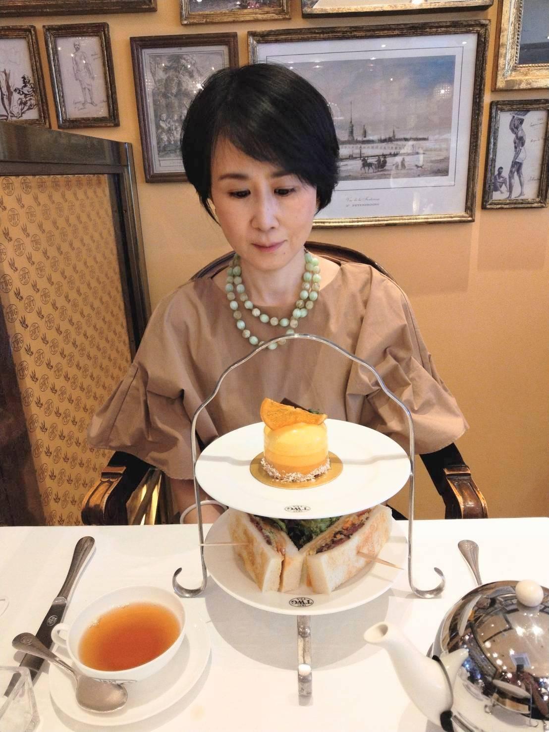 シンガポールの紅茶専門店TWG Teaのアフタヌーンティー♪_1_2