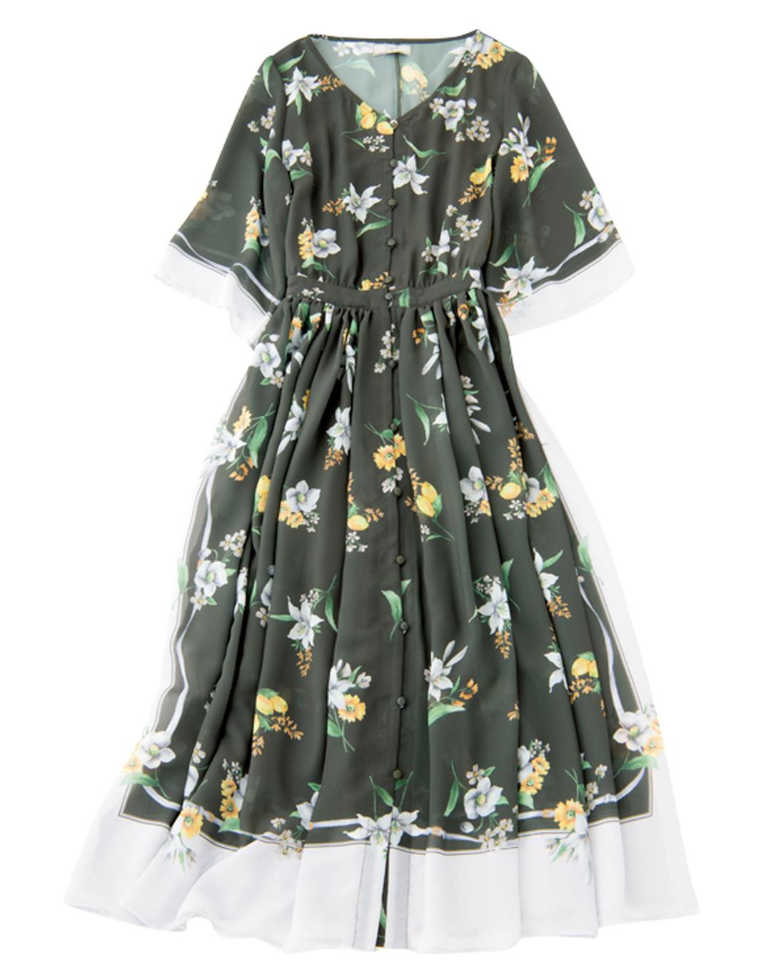花柄スカート、差をつけるならノエラのスカーフモチーフ♡ _1_4-2