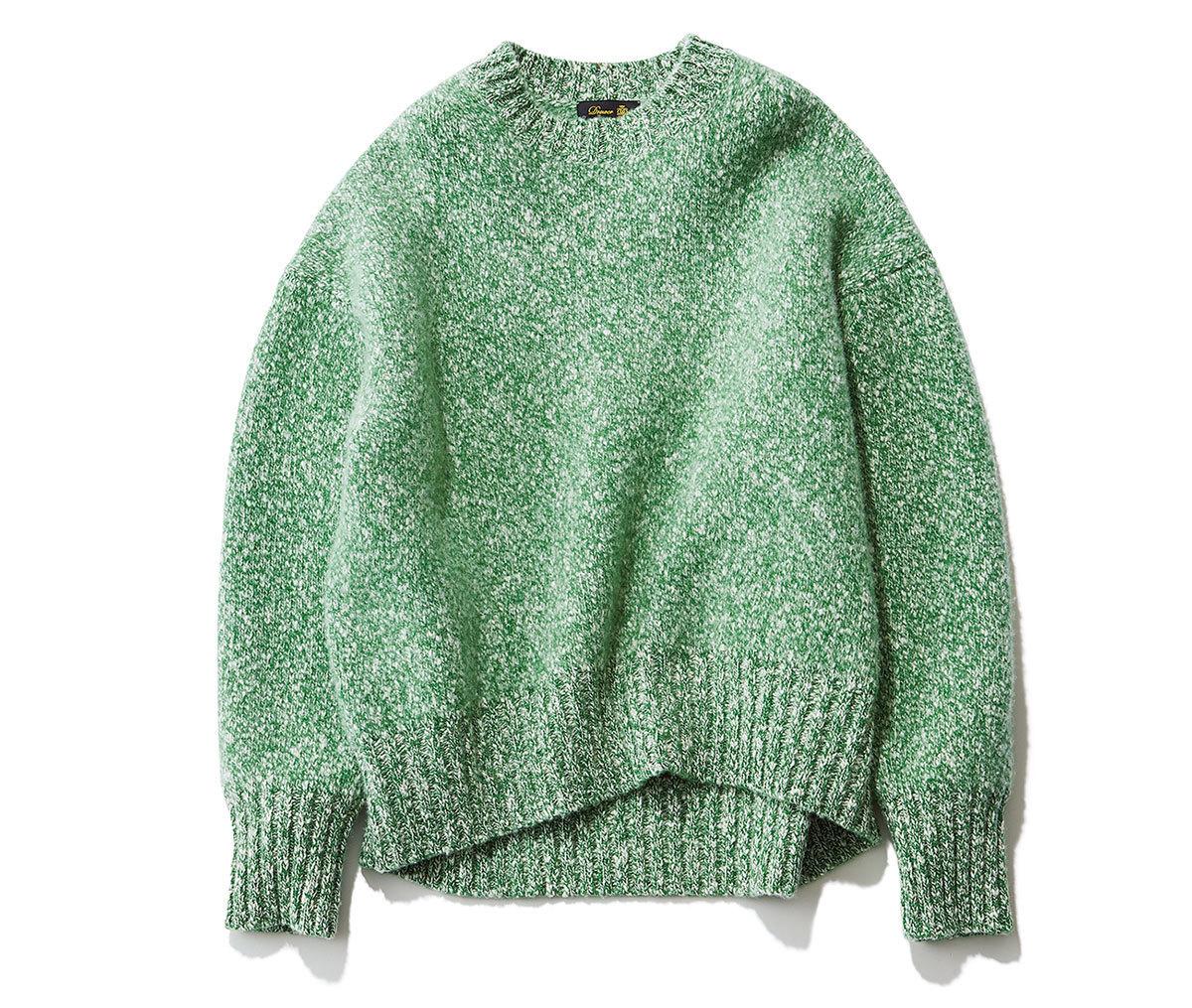真冬コーデの差し色はコレ!グリーンに注目|40代 2020冬ファッション_1_2