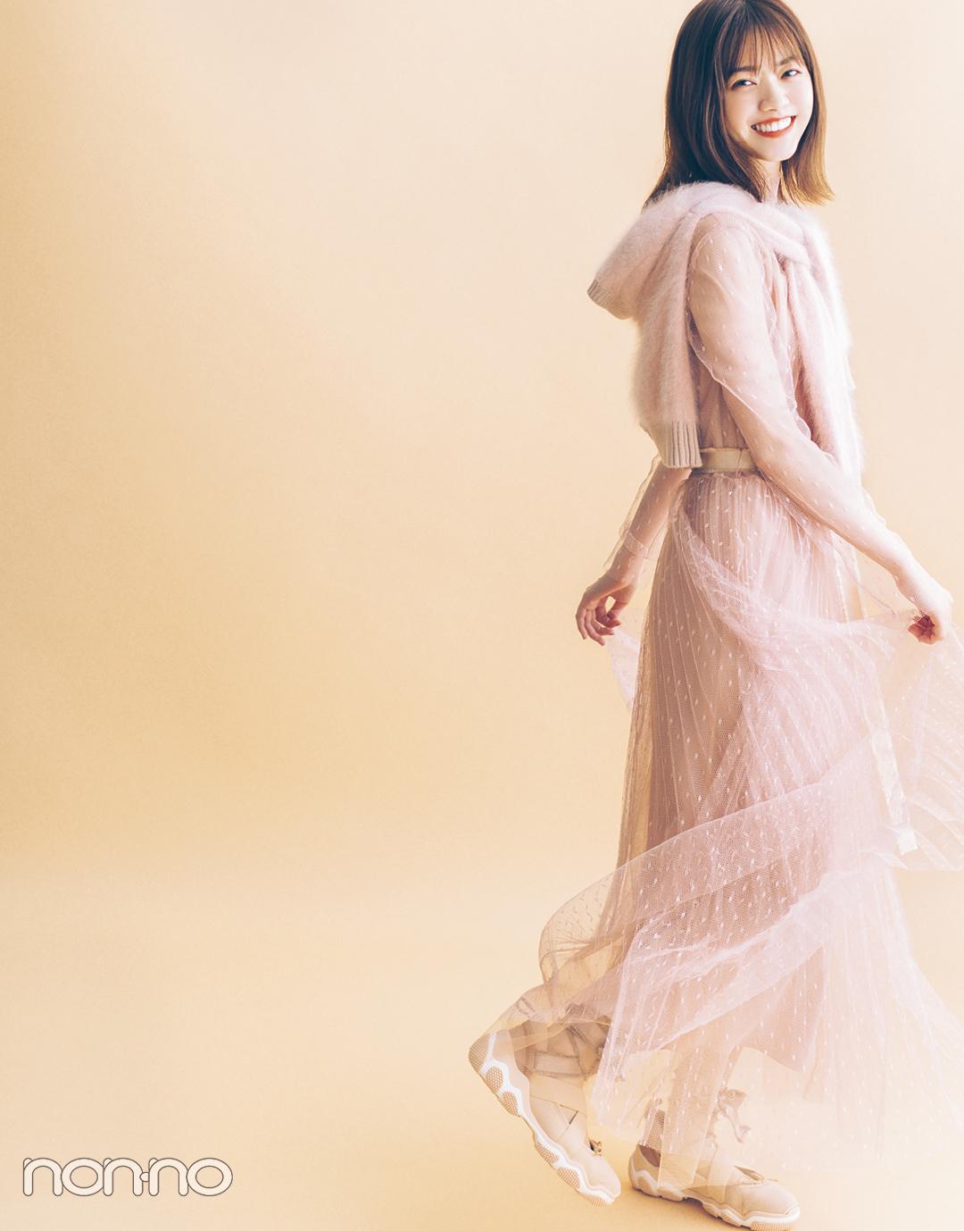 秋ファッションで魅せるモデルの顔。 西野七瀬フォトギャラリー_1_6