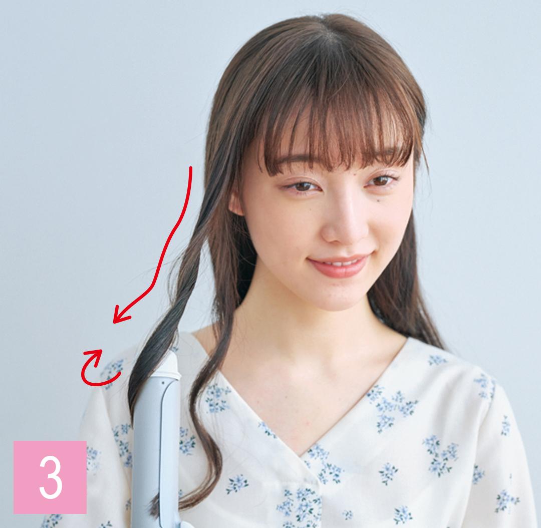 ロングの巻き髪の基本教えます★ 巻き方からワックス使いまで超ていねい解説! _1_4-3