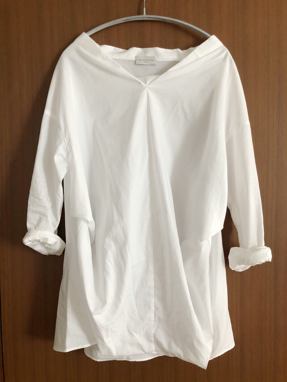 華奢見えシャツ×twoコーデ_1_1-1