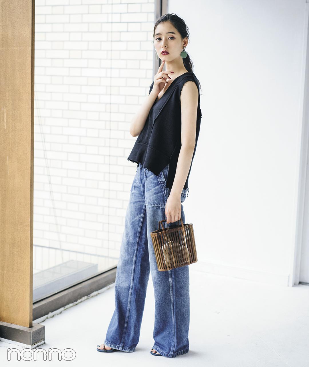 新木優子が夏私服を披露♡ ブランドの展示会ではこのコーデ! _1_1