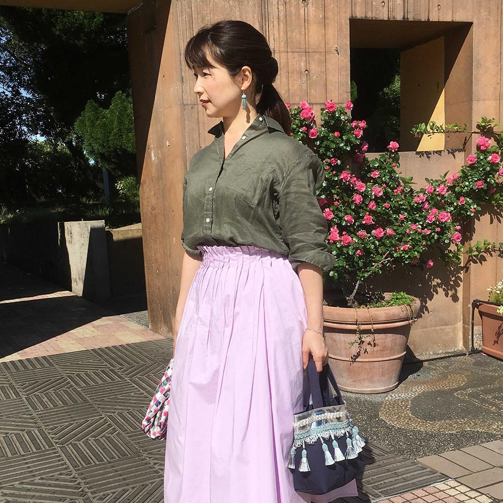 やっぱりスカートが大好き!プチプラから1点ものまでお気に入りの1枚【マリソル美女組ブログPICK UP】_1_1-4