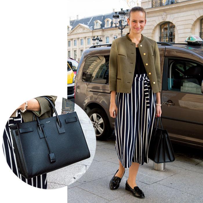 カジュアルも格上げしてくれる「レディなクラシックバッグ」【ファッションSNAP パリ・ミラノ編】_1_1-1