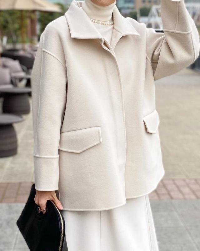 今年の本命コート『冬の白』_1_1
