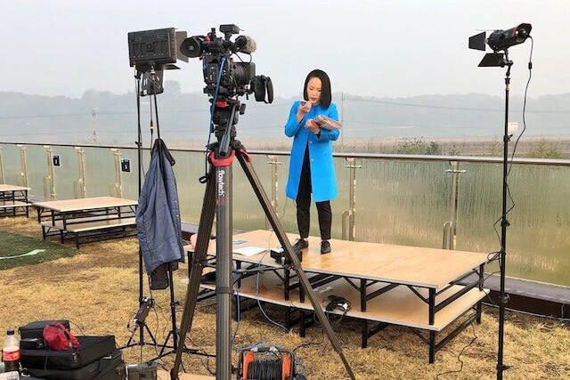 2018年、歴史的な南北会談を韓国と北朝鮮のDMZ(非武装地帯)からライブ中継した