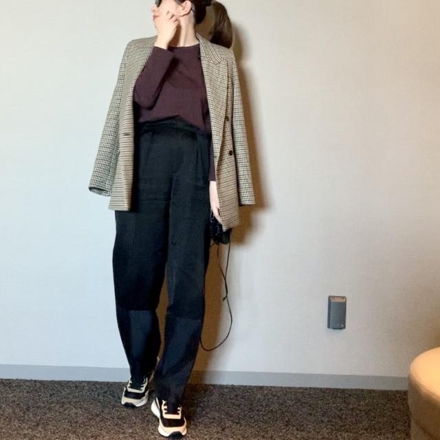 ザ・日本人体型でもワイドパンツは履ける_1_2