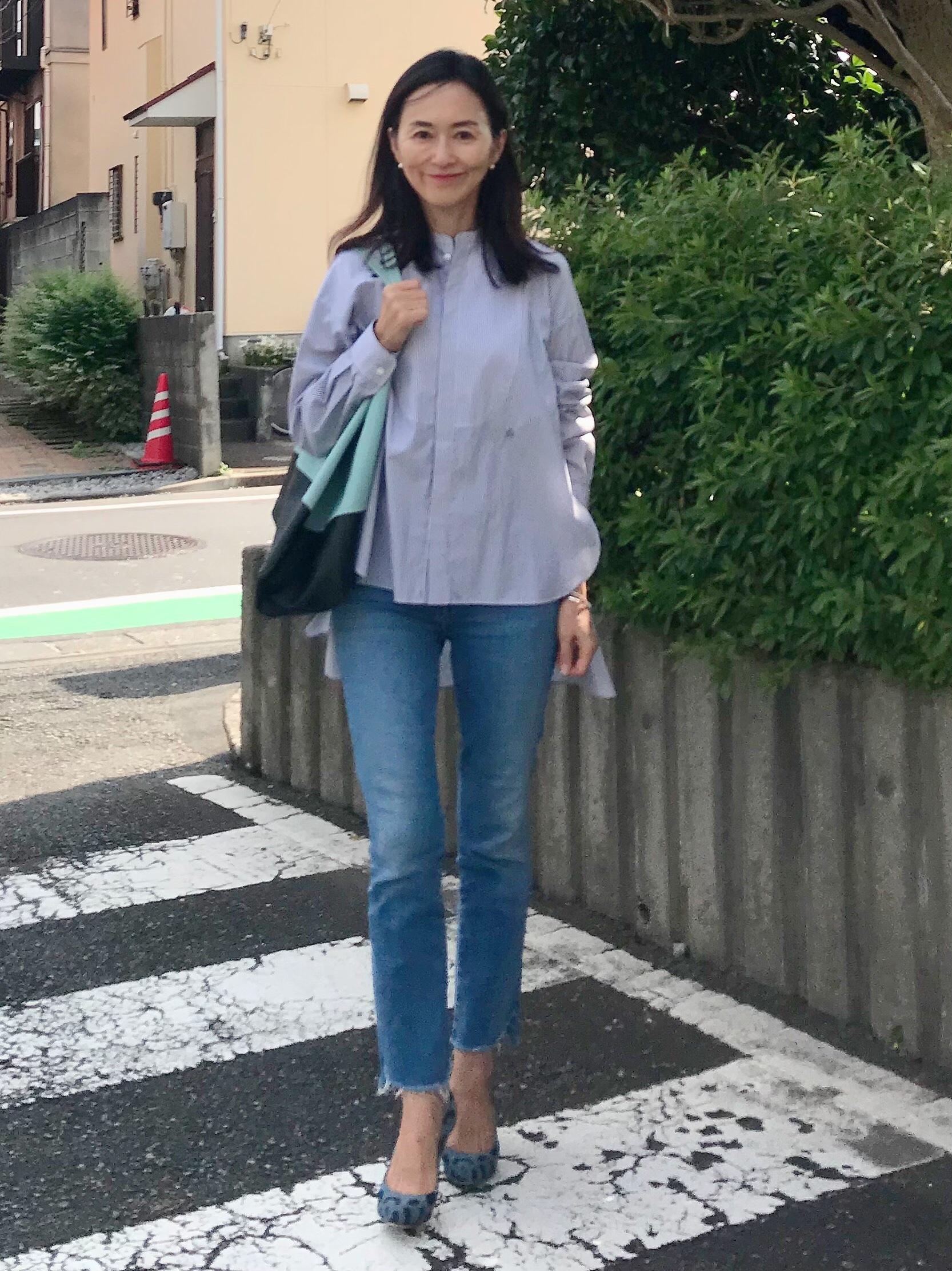 今シーズンお気に入りのシャツ♡_1_2