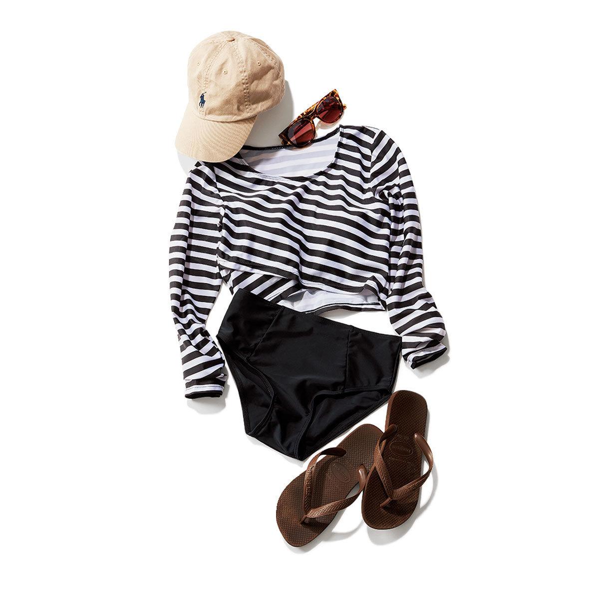 大人に似合う水着5選 | ワンピースや長袖の形に注目! | アラフォーファッション_1_5