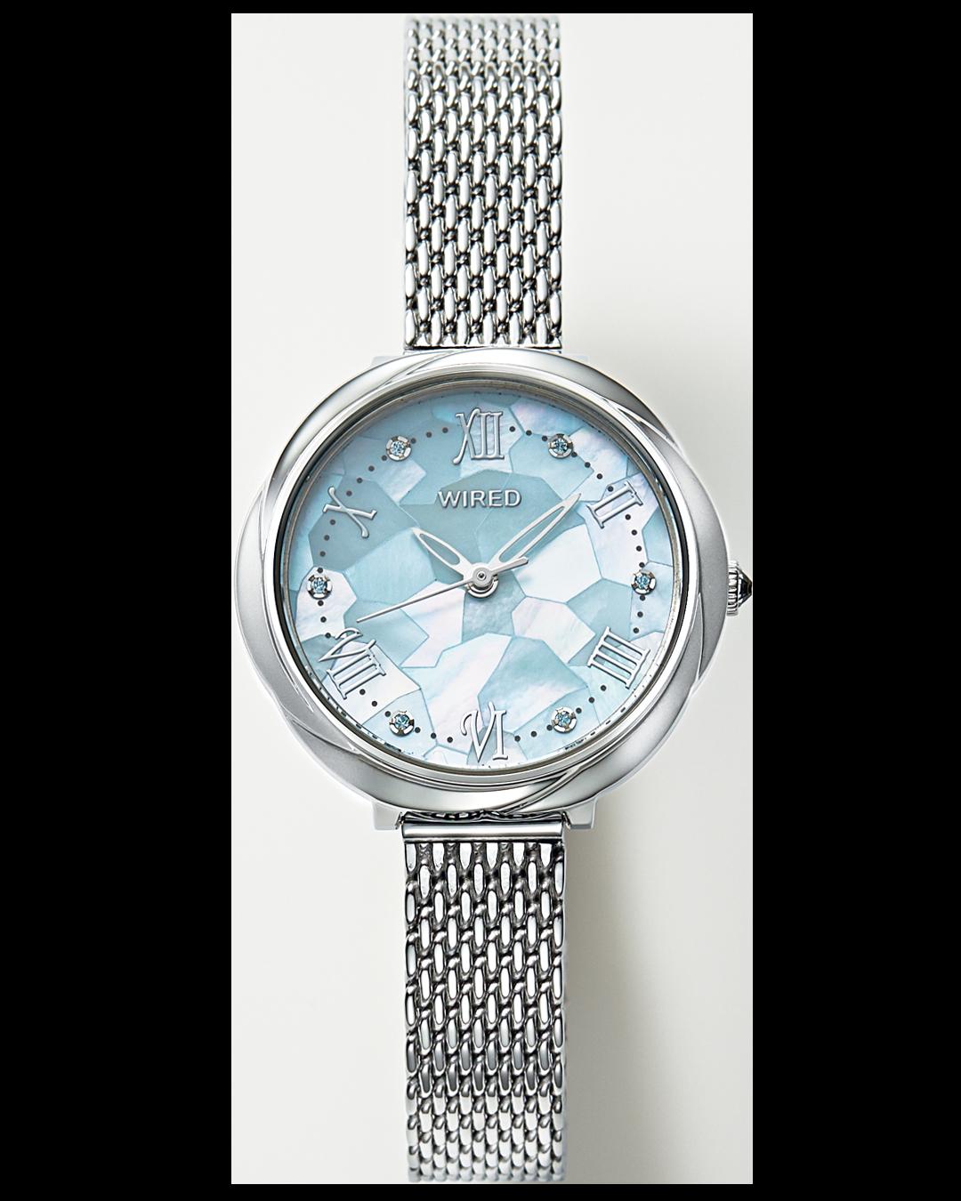 花モチーフのWIRED f(ワイアード エフ)が私の相棒♡ 清楚感も好感度も。決め手は腕時計!_1_5