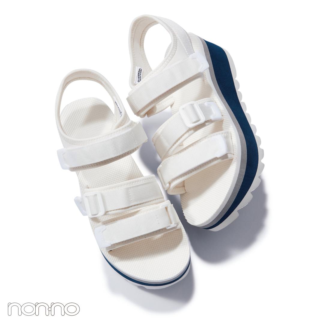 サンダル2019★ハイテク厚底スポサン系の靴下合わせ、正解教えます!_1_4-4