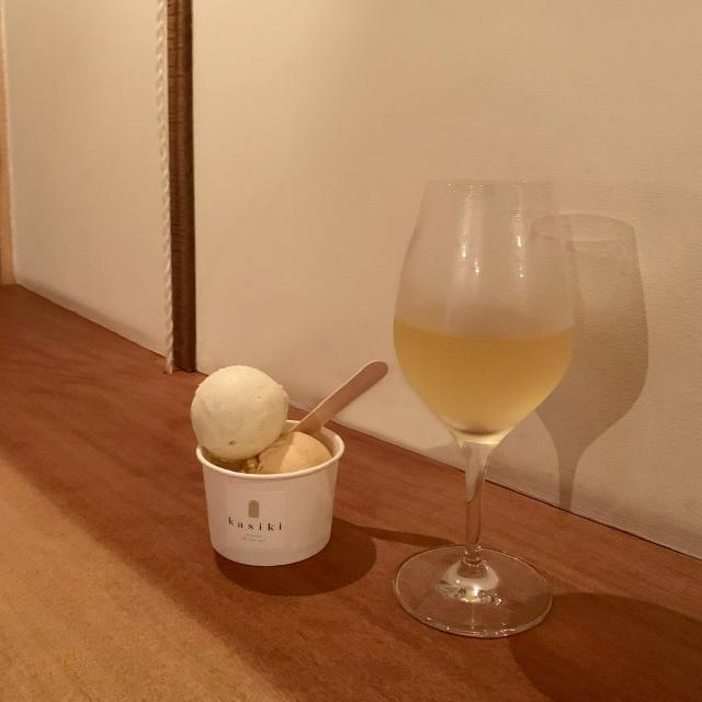 幡ヶ谷のワインショップflowで2日間限定のkasikiのキオスク。絶品アイスは最高!_1_4