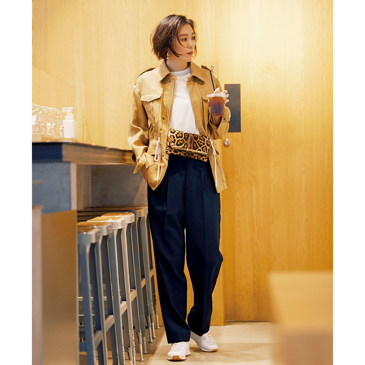 40代のあなたに捧ぐ、初夏のきれいめスニーカーコーデ特集 | アラフォーファッション_1_15