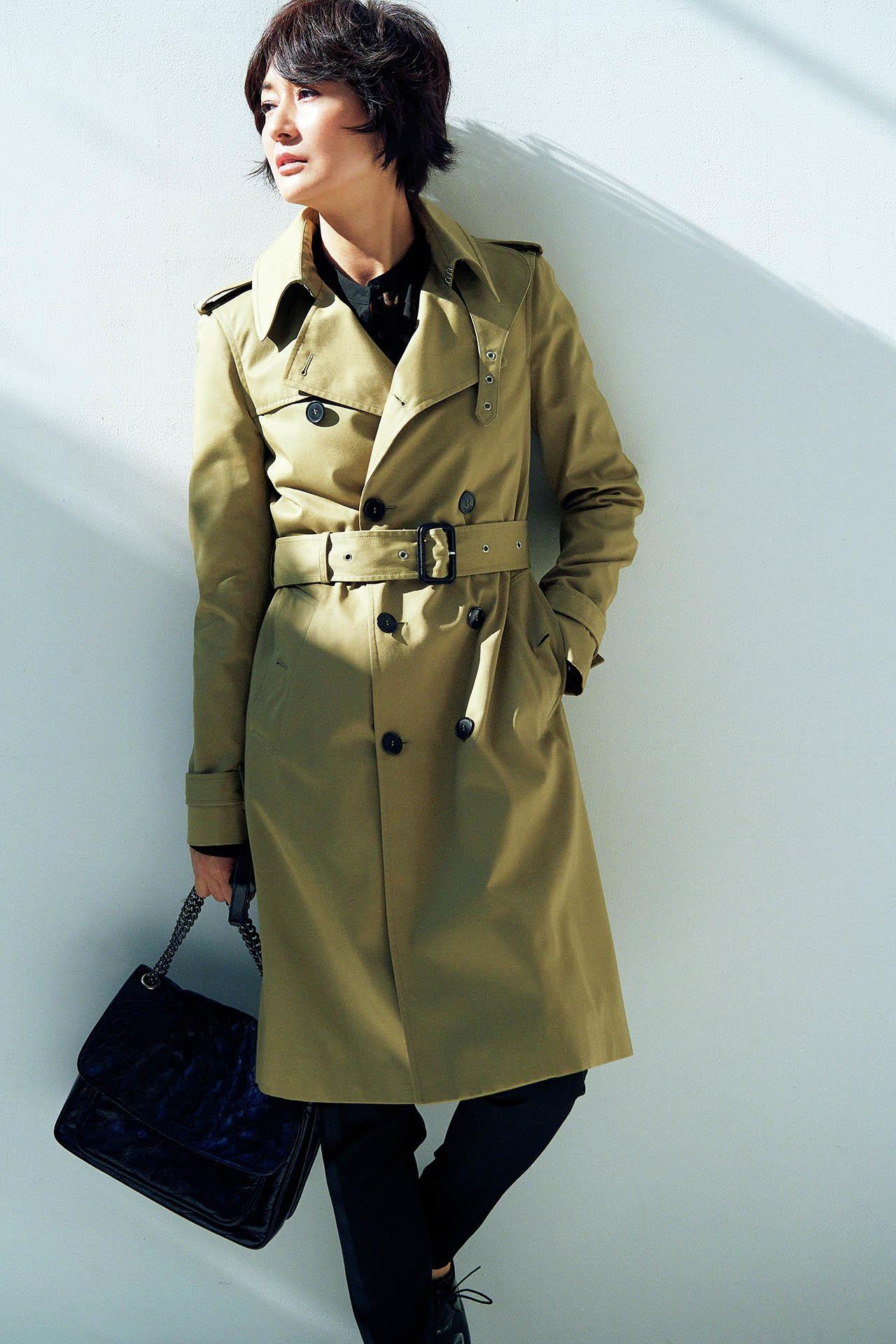 これが最後と思える一着を探して。富岡佳子の 「上がり」のトレンチ 五選_1_1-1