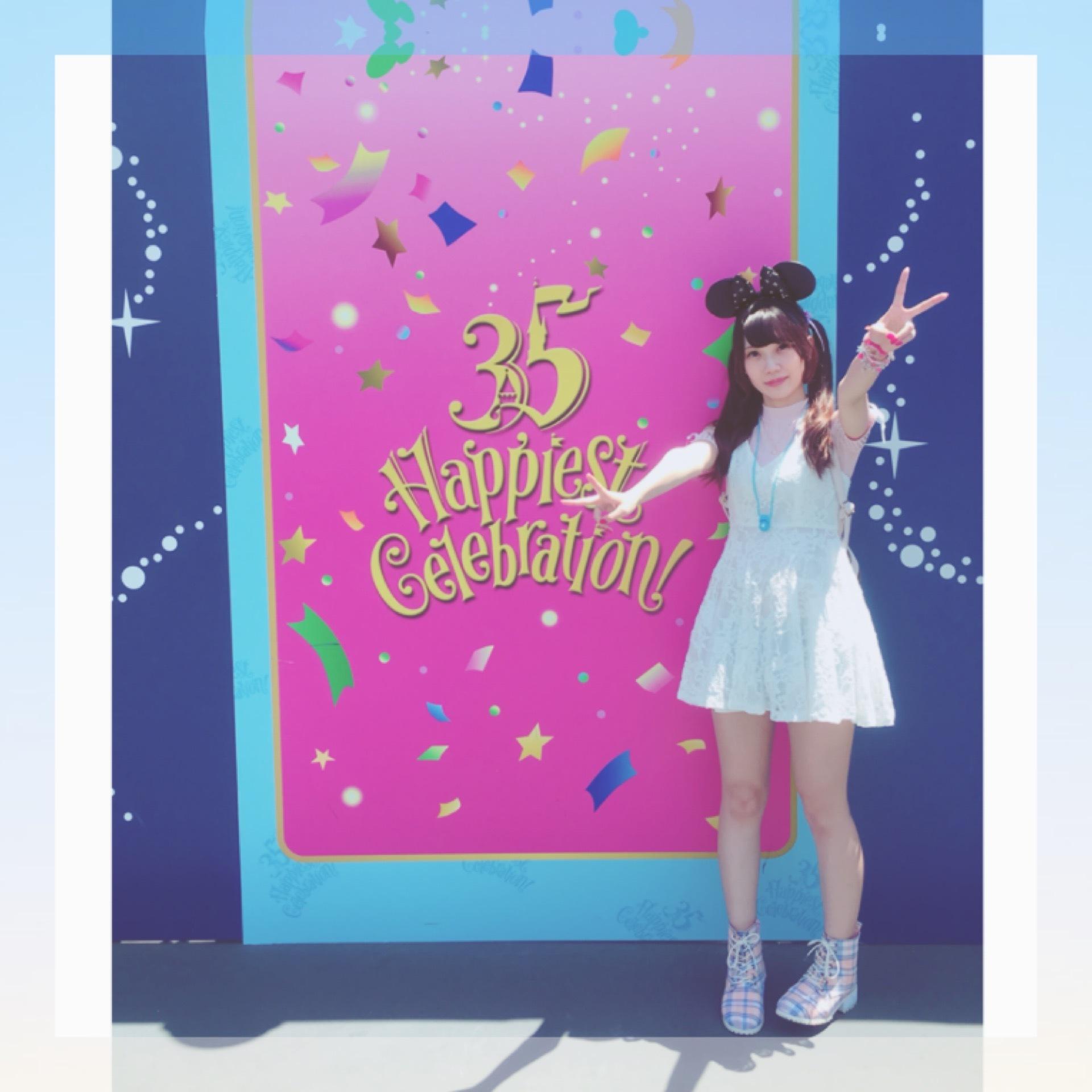 Tokyo Disneyland《 35 Happiest Gelebration! 》に行ってきました♫_1_5-1